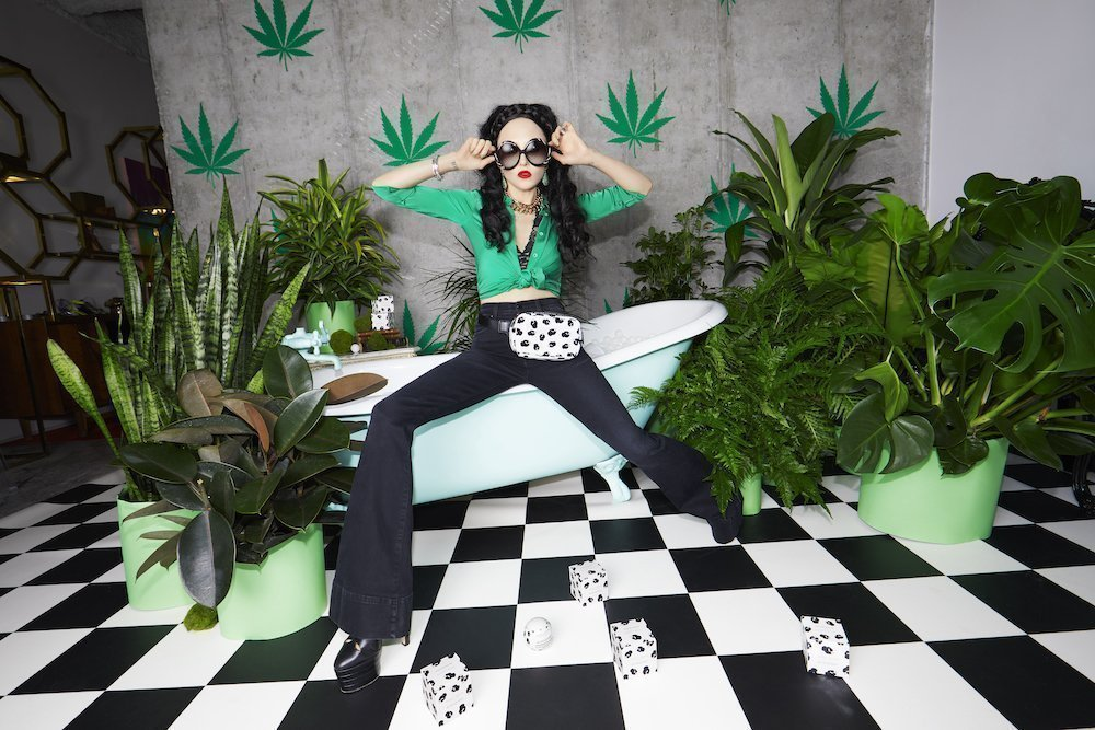 Alice + Olivia's Stacey Bendet for Kush Queen