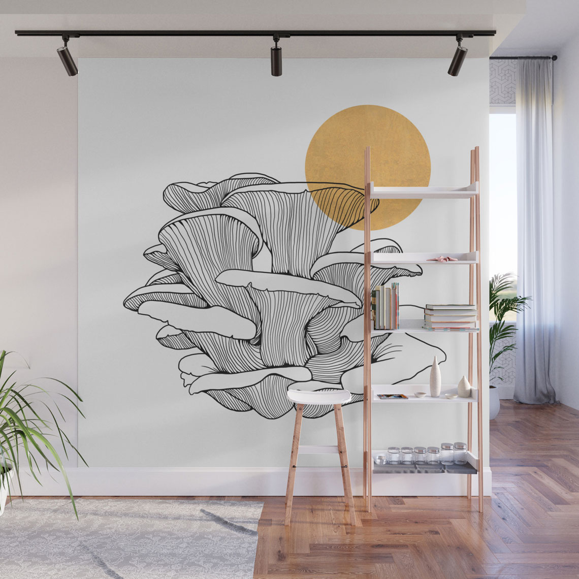 home decor with mushrooms